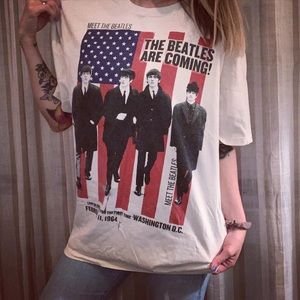 Tops - The Beatles Vintage Inspired T-shirt